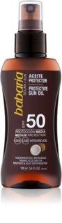 Babaria Sun Protective Aurinkoöljy Suihkeena SPF 50
