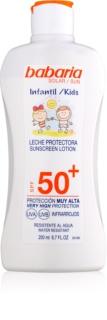 Babaria Sun Infantil creme bronzeador para crianças  SPF 50+