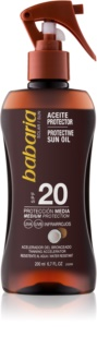 Babaria Sun Protective масло для загара SPF 20