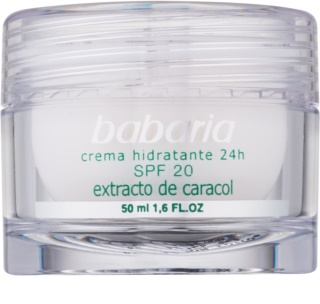 Babaria Extracto De Caracol Moisturising Cream With Snail Extract