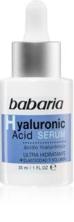 Babaria Hyaluronic Acid ser pentru ten  cu acid hialuronic