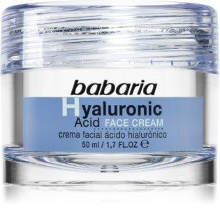 Babaria Hyaluronic Acid хидратиращ крем за лице