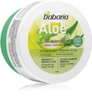 Babaria Aloe Vera gel corpo idratante per tutti i tipi di pelle