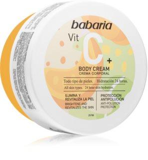 Babaria Vitamin C crema idratante corpo per tutti i tipi di pelle