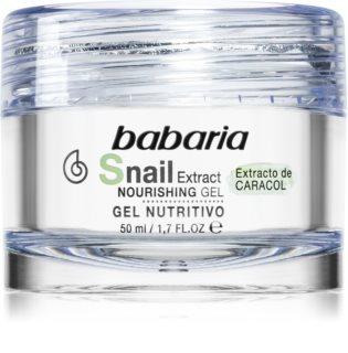 Babaria Snail Extract gel pentru fata cu efect de nutritiv