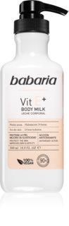 Babaria Vitamin E зволожуюче молочко для тіла для сухої шкіри