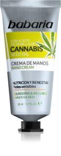 Babaria Cannabis hydratační krém na ruce