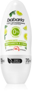 Babaria Bergamot & Lime Antiperspirant Roll-On With 48 Hours Efficacy