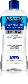 Babaria Aqua Micelar agua micelar bifásica
