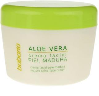Babaria Aloe Vera crema facial para pieles maduras