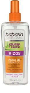 Babaria Ginseng Styling Spray  voor Krullend Haar