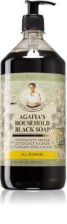 Babushka Agafia Agafia's Household Black Soap Flytande universaltvål