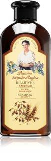 Babushka Agafia Bread Elvyttävä Hiustenpesuaine Heikoille ja Vaurioituneille Hiuksille