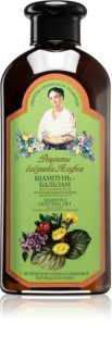 Babushka Agafia Wild Sweet William шампунь и кондиционер 2в1 с восстанавливающим эффектом