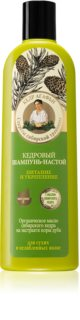 Babushka Agafia Cedar vyživující šampon pro slabé vlasy
