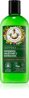 Babushka Agafia Volume & Strengthening 5 Wild Berries après-shampoing fortifiant pour donner du volume