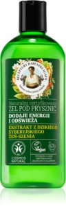 Babushka Agafia Energy & Tone poživitveni gel za prhanje