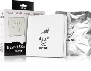 Baby Dab Keepsake Box huella 3D en caja