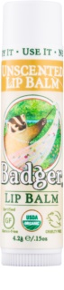 Badger Classic Unscented Lip Balm