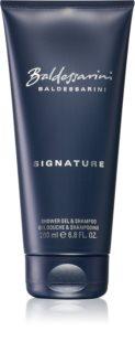 Baldessarini Signature gel de douche corps et cheveux pour homme
