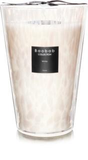Baobab White Pearls dišeča sveča