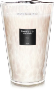 Baobab White Pearls bougie parfumée