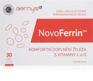 Barnys NovoFerrin 30 kapslí podpora tvorby červených krvinek a hemoglobinu