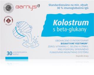 Barnys Kolostrum s beta-glukany podpora imunitního systému