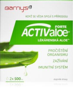 Barnys ACTIValoe Lékárenská aloe pročištění organismu, zažívání a imunita