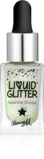 Barry M Liquid Glitter Face and body glitter