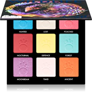 Barry M Wildlife  oogschaduw palette