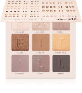 Barry M Bare It All Øjenskygge palette