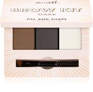 Barry M Fill and Shape Brow Kit sada na úpravu obočí