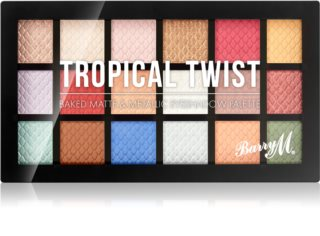 Barry M Tropical Twist Lidschatten-Palette