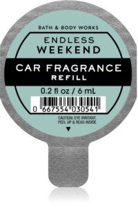 Bath & Body Works Endless Weekend άρωμα για αυτοκίνητο ανταλλακτικό