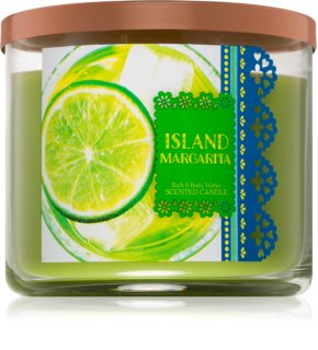 Bath & Body Works Island Margarita candela profumata