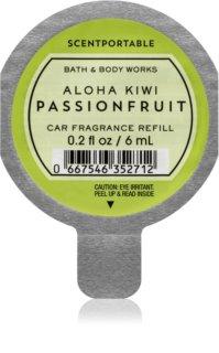 Bath & Body Works Aloha Kiwi Passionfruit vůně do auta náhradní náplň