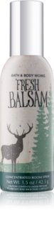 Bath & Body Works Fresh Balsam spray para o lar