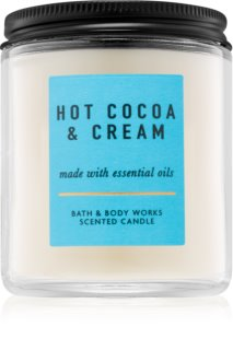 Bath & Body Works Hot Cocoa & Cream vonná svíčka VI.