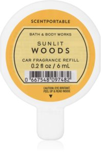 Bath & Body Works Sunlit Woods ambientador auto