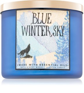 Bath & Body Works Blue Winter Sky aроматична свічка