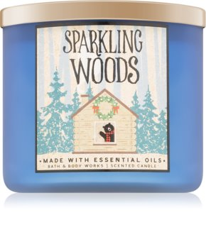 Bath & Body Works Sparkling Woods lumânare parfumată