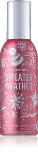 Bath & Body Works Sweater Weather spray para o lar