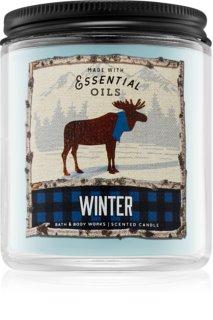 Bath & Body Works Winter Duftkerze mit ätherischen Öl