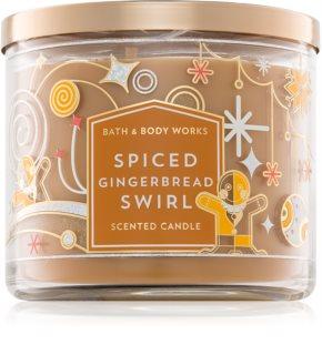 Bath & Body Works Spiced Gingerbread Swirl candela profumata
