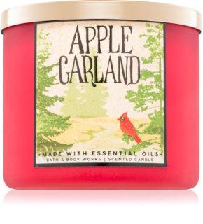 Bath & Body Works Apple Garland candela profumata