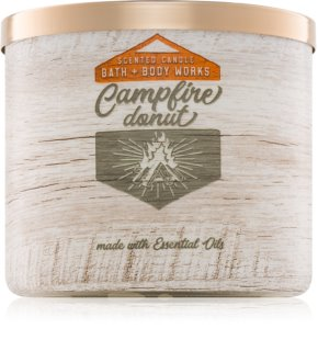 Bath & Body Works Campfire Donut scented candle II.