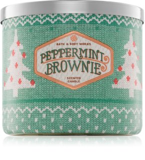 Bath & Body Works Peppermint Brownie vonná sviečka