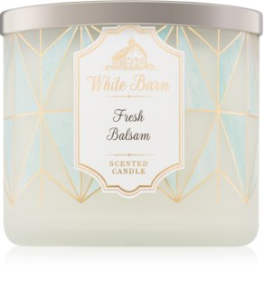 Bath & Body Works Fresh Balsam vela perfumada II.