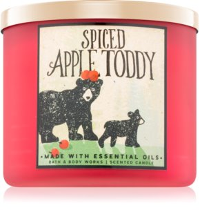 Bath & Body Works Spiced Apple Toddy candela profumata I